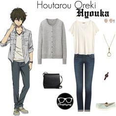 """Houtarou Oreki Closplay - Hyouka"" by closplaying on Polyvore"