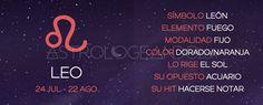 Leo: Características #Astrología #Zodiaco #Astrologeando #Leo