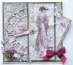 Gemaakt voor de Hobbyboerderij met het maja Design Papier Vintage Autumn basics