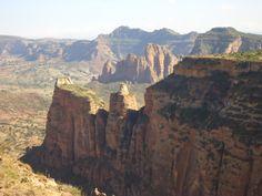 Mountains around Gheralta/Hawsien (North Ethiopia)