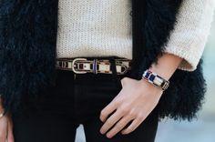 Idea de estilo by Isabel Marant y Chiara Ferragni: cinturón a juego con tus #pulserasdelverano