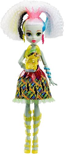 All about Monster High: Roll over image to zoom in Monster High Electrified High Voltage Frankie Stein Doll
