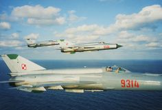 "partisan1943: ""MiG-21 fighters of the Polish People's Air Force. """