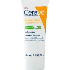 Cerave zinc sunscreen