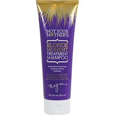 Not Your Mother's Blonde Moment Treatment Shampoo Neutralizes and prevents brassiness