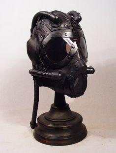 Steampunk Big Glass Eyes mask by Bob Basset