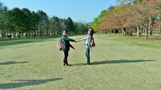 Travel to Nami Island on April 21st near Chuncheon City South Korea.