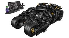 Lego Batmobile - 1869 pieces. Back to childhood :D