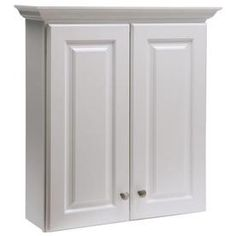 Another option for the downstairs bathroom Style Selections Northrup White Wall Cabinet (Common: Actual: Bathroom Wall Cabinets, Downstairs Bathroom, White Bathroom, Bathroom Furniture, Cheap Furniture, Vintage Furniture, Home Furniture, Bathroom Vanities, Bathroom Ideas