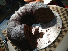 The Black Rooster Bakery Gingerbread Coffee Cake