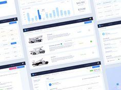 Machinery Production Company Web Application Design