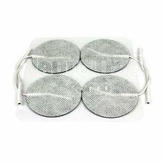 Electrodes rondes : Electrodes rondes autocollantes pour utilisation cutanée. Idéale pour l'électrostimulation sportive, et antalgiques. Pour en savoir plus, n'hésitez pas à découvrir ce lien http://www.neurotracshop.com/s/31307_187030_electrodes-cutanees-rondes