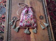 Medieval Brick Stitch purse