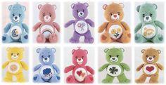 Adorable Care Bears Amigurumi Pattern: by BabesCreation Cute Crochet, Crochet For Kids, Crochet Toys, Crochet Animals, Easy Crochet Patterns, Amigurumi Patterns, Bear Patterns, Crochet Ideas, Crochet Stitches
