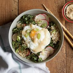 Nutrient-rich kale has a mild flavor and becomes tender very quickly, making it a snap to add to speedy meals like this one.