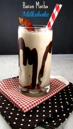 Bacon Mocha Milkshake from @missinthekitchen