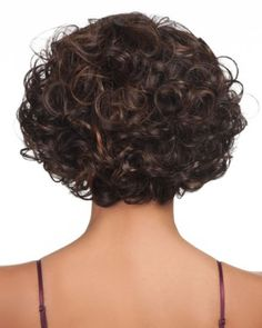 Volumised Curly Hair Bob Hairstyles For Black Women-2