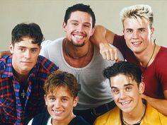 ...Adoravamo i Take That e tra i cinque avevamo sempre un favorito.
