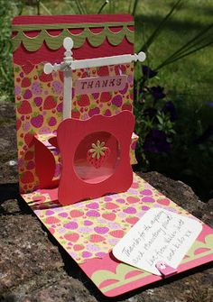 The Dining Room Drawers: More Sizzix Pop 'n Cuts cards