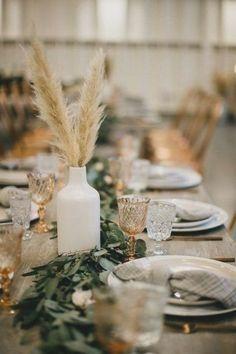 Fall Wedding Colors, Floral Wedding, Rustic Wedding, Boho Wedding, Wedding Flowers, Neutral Wedding Decor, Fall Flowers, Elegant Wedding, Simple Wedding Reception