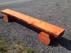 Image result for log benches