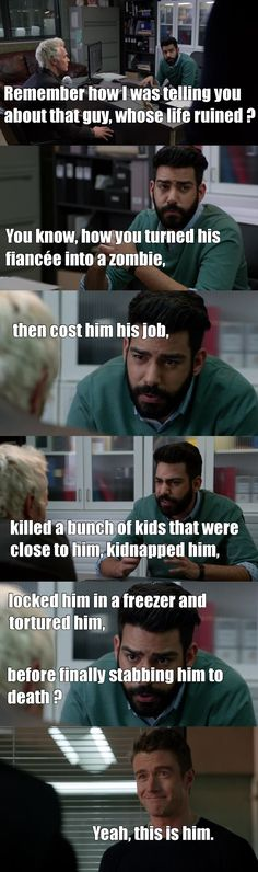 "#iZombie 2x17 ""Reflections of the Way Liv Used to Be"" - Ravi, Major and Blaine"