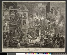 William Hogarth 1762  The Times Plate 1