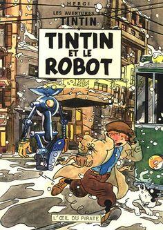 Les Aventures de Tintin - Album Imaginaire - Tintin et le Robot