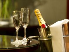 We do love a glass or two of Moet at The Imperial Hotel. Imperial Hotel, North Devon, Luxury Accommodation, Red Wine, Alcoholic Drinks, Star, Glass, Drinkware, Corning Glass