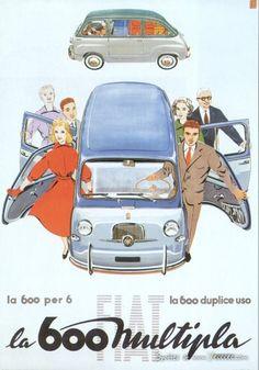 Vintage Car Advertisement Posters
