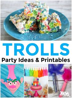 Trolls Party Ideas a