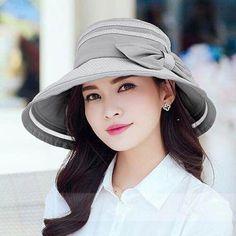 76b4e56e9b4 Fashion bow bucket hats for women UV protection summer sun hats   SunHatsForWomen  ballhatsforwomen Boots