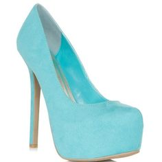 JustFabulous Laurence - Teal ($60) ❤ liked on Polyvore
