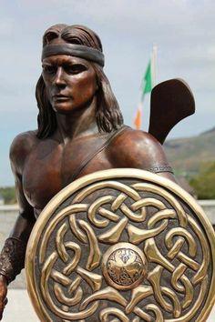 Irish Celtic, Gaelic Irish, Michael Murphy, Irish Mythology, Irish Warrior, Irish Culture, Irish Roots, Track And Field, Deities
