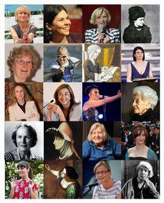 Una selezione di donne eccezionali e indipendenti di ieri di oggi, che possano essere d'ispirazione a tutte.