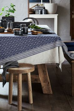 Linen napkin - Grey - Home All | H&M GB 1