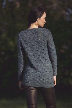 Ravelry: Calder Pullover pattern by Rebecca Blair