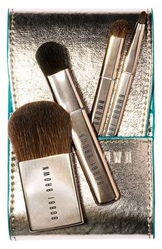 Just got my hands on this set! Bobbi Brown 'Desert Twilight' Mini Brush Set | Nordstrom