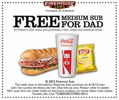 father's day meal deals 2015