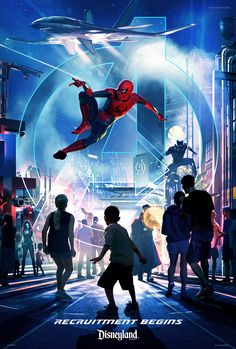 New Marvel experiences will be headed to some Disney parks in 2020!