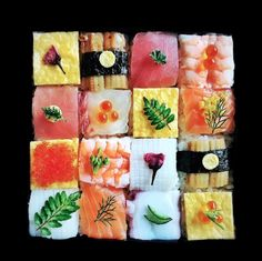 Arranged In A Perfect Cube, Colorful 'Mosaic Sushi' May Be Too Pretty To Eat…