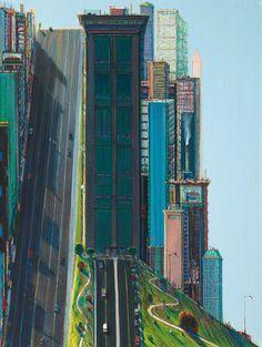 ART & ARTISTS: Wayne Thiebaud (cityscapes)