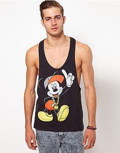 Street Mickey Men's Tank Top