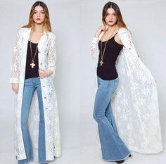 Shop Vintage Lace Jacket on Wanelo