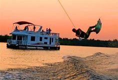 Wake boarding & Houseboating