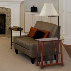 end tables with lamps attached | Table | Pinterest | End table ...
