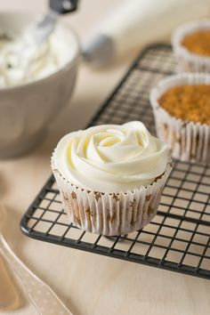 The Sweetest Taste: Cupcakes de zanahoria