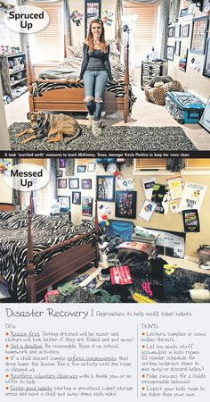 When a teen's bedroom gets too messy