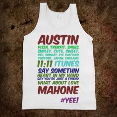 Austin ........ Mahone $34.98 on Skreened