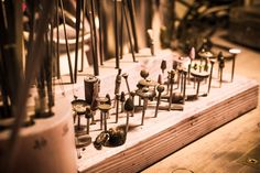 Polierrädchen im Detail. Tools for a goldsmith